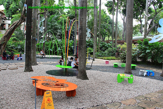 Greenbelt park, Makati, Manila, the Philippines