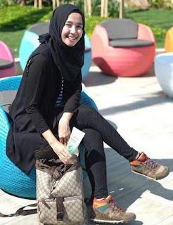Baju Hijab Terbaru Gaya Laudya Chintya Bella
