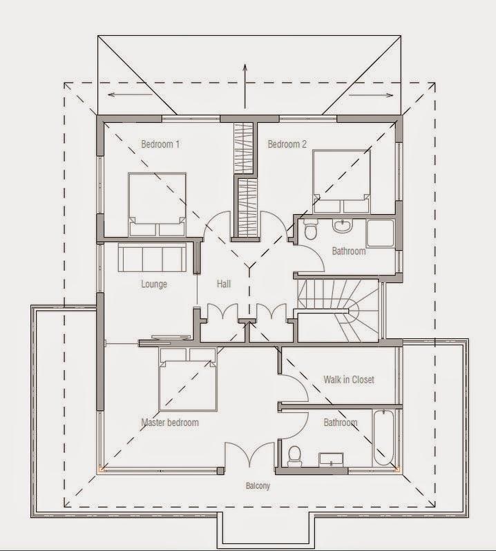 Planos De Casa 3 Dormitorios 2 Plantas Planos De Casas