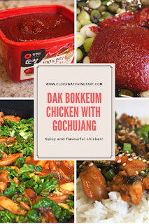 Chicken with Gochujang