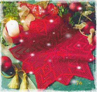 Napperon de Noël