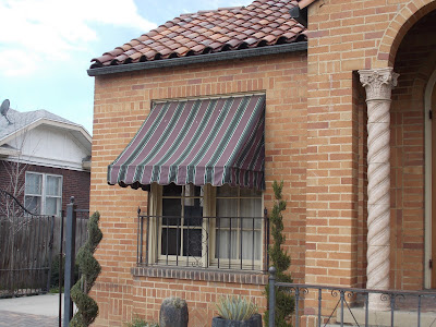 Residential Window Awnings (canvas)