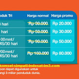 UPADATE...!!! PROMO INTERNET MURAH TRI NOVEMBER HOT SALE 2016