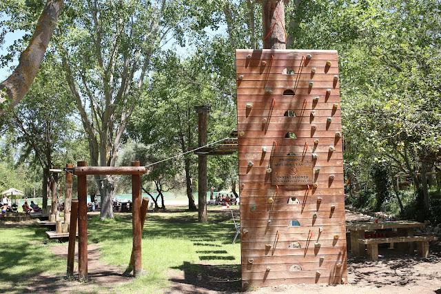 """Zona de Actividades """"El Bosque Suspendido"""""""