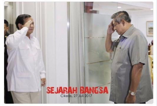 Gerindra: Duet Prabowo-AHY Terbuka pada 2019