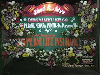bunga papan pt bni life insurance