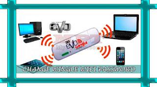 Changing 3G EVO Wingle USB Wifi Password Key