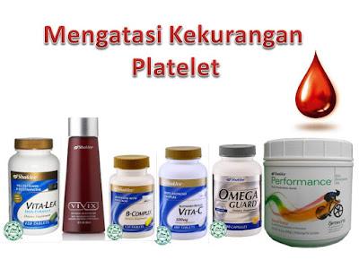 Set Tambah Platelet Darah Shaklee