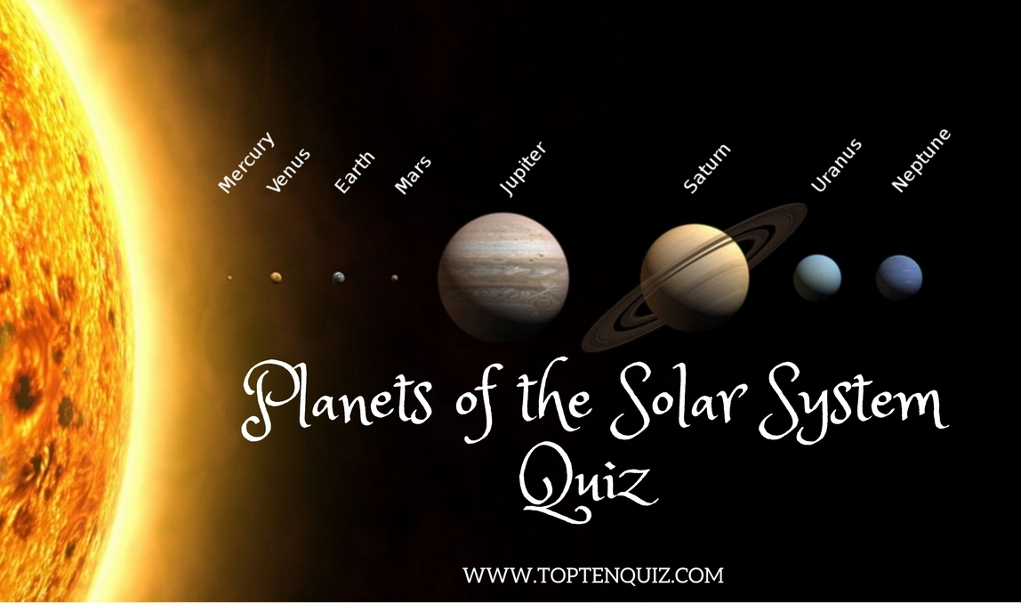 Planets of the Solar System Quiz