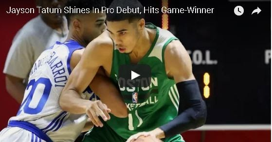 Jayson Tatum Summer League debut highlights (video)
