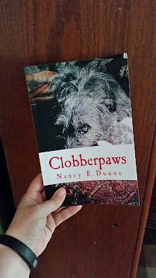 Photo of print copy of Clobberpaws