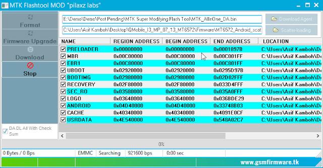احدث اصدار معدل باحترافية لبرنامج التفليش الشهير MTK (Super Modified) Flash Tool