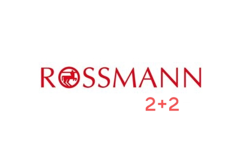 Nowa akcja Rossmanna 2+2!