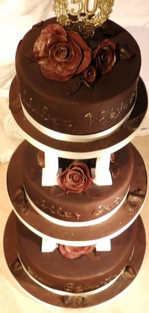 Dreistockige Torte Zum 50 Geburtstag Sugarprincess