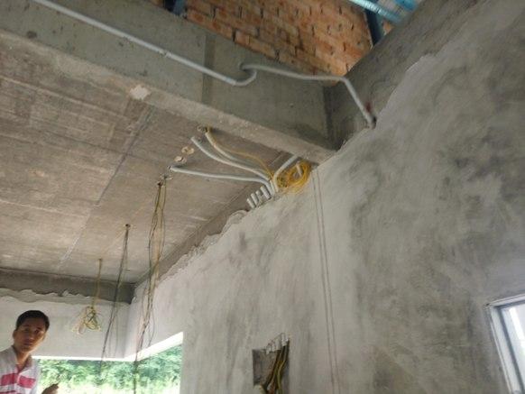 pemasangan wiring dalam rumah banglo