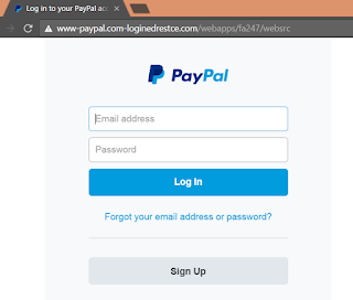 paypal phising