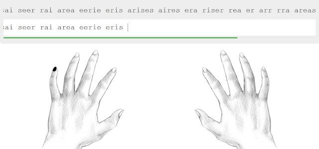 cara mengetik 10 jari, cara mengetik 10 jari untuk pemula, latihan mengetik 10 jari