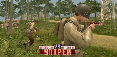 Download American vs Japanese Sniper Mod (infinite money) v1.1.1 Offline