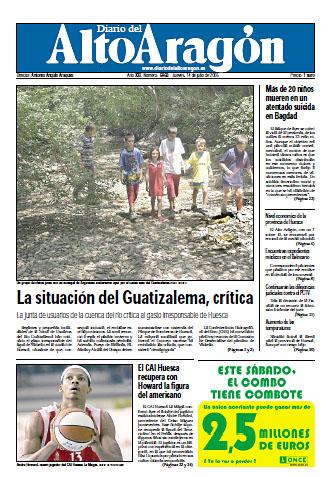 Fañanás: La situación del Guatizalema, crítica