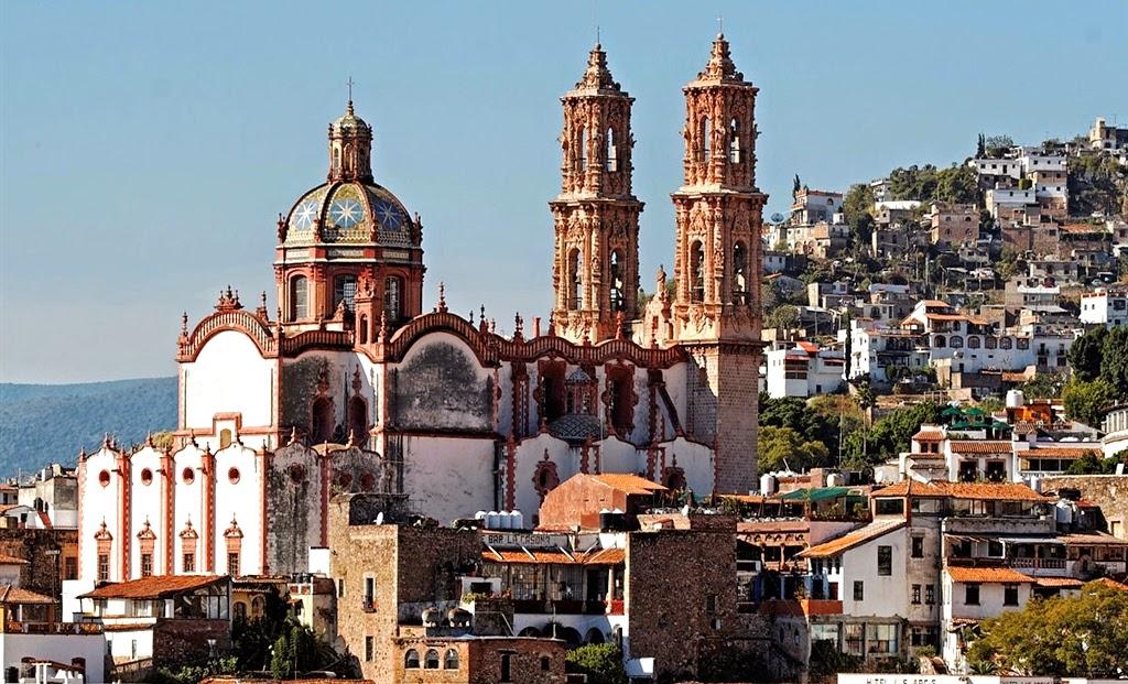 cidade de Taxco no México