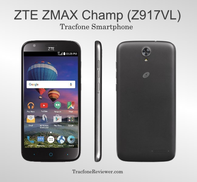 TracfoneReviewer: ZTE ZMAX Champ (Z917VL) Review - Tracfone