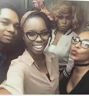 Miyonse, Princess, Bambam And Tboss During BBNaija Audition