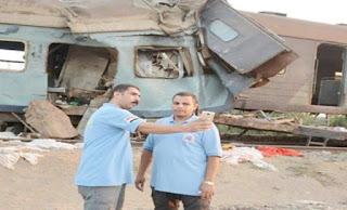 نقل المسعفين الطبيين الذين التقطوا صور سلفي امام قطار الاسكندرية الى الى واحة سيوة