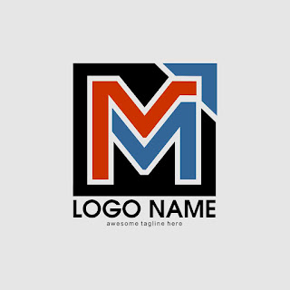 Letter M Logo Design Template Free Download Vector CDR, AI, EPS and PNG Formats