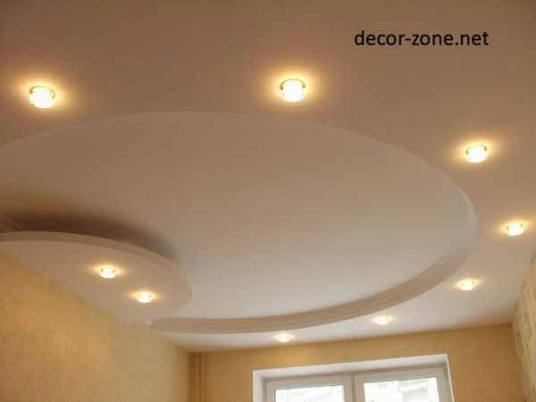 round false ceiling design for bedroom