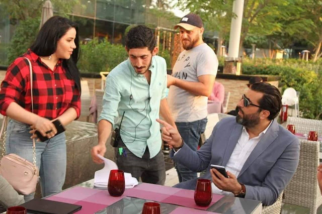 """""""هاجر أحمد """"شهادة النجم باسم ياخور وسام على صدري"""
