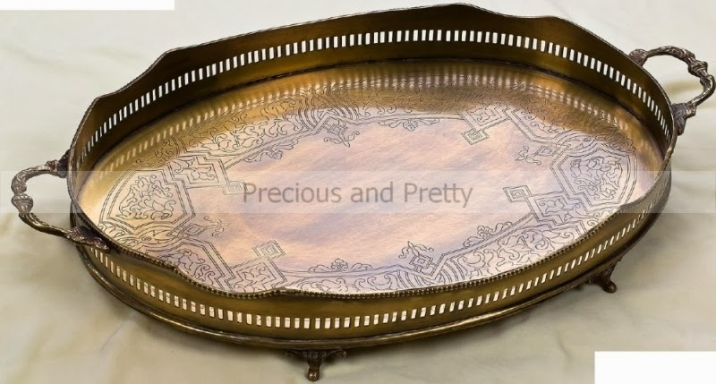 Greek Orthodox wedding trays N701