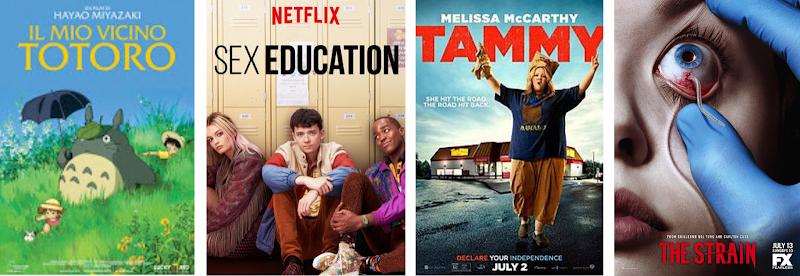 Film & Serie TV viste a dicembre - gennaio