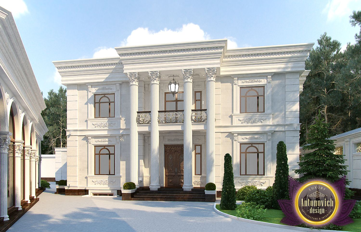 Luxury antonovich design uae architectural design from for Luxury homes architecture design