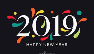 بوستات رأس السنة 2019 happy new year