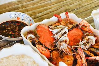 marinade pour fruits de mer grillé au bbq, à la plancha