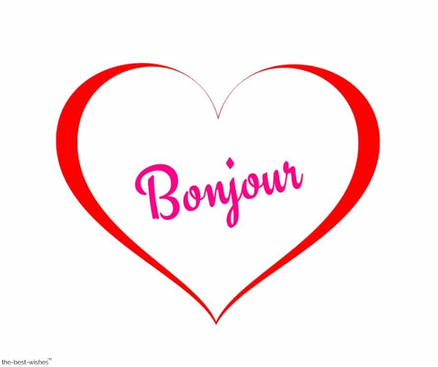 bonjour image