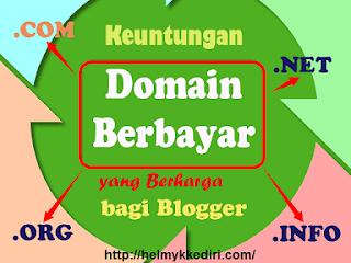 1. Pasang domain berbayar