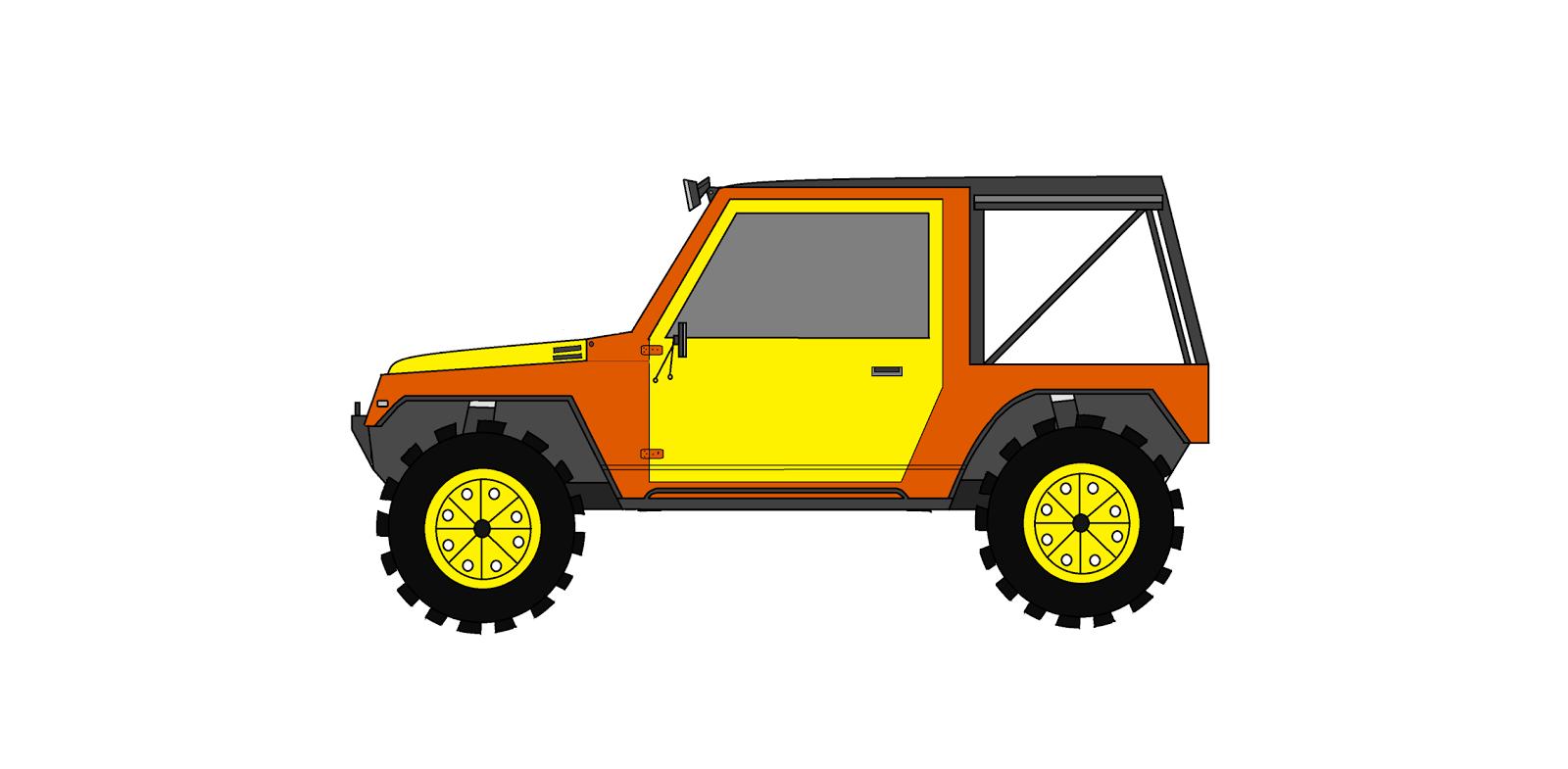 Inspirasi Terbaru 39 Kartun Mobil Offroad