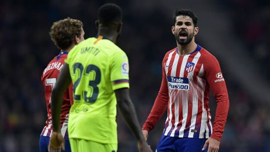 Diego Costa and Griezmann at atleti