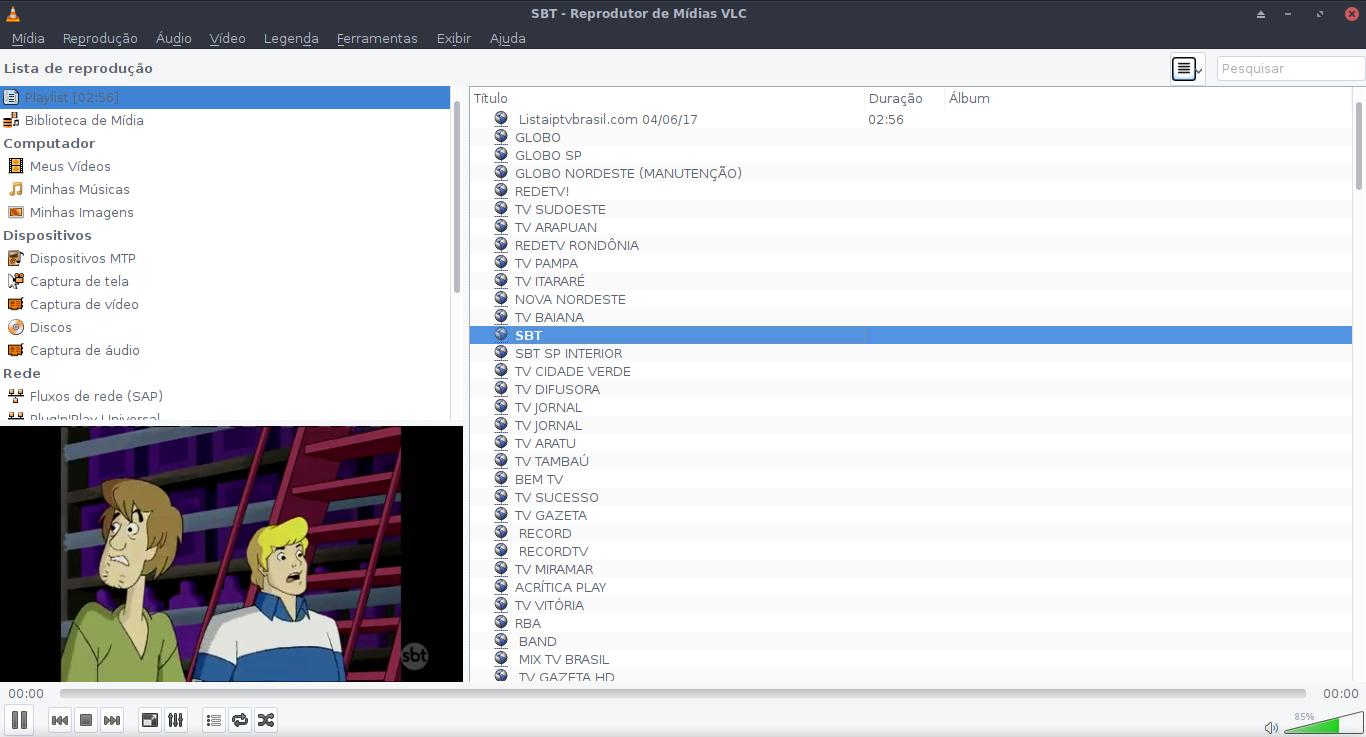 Linux dicas e suporte: Alternativa IPTV pelo player VLC no seu