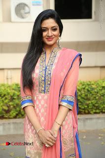 Actress Vimala Raman Stills in Beautiful Pink Salwar Kameez at (ONV) Om Namo Venkatesaya Press Meet  0084.JPG