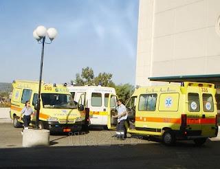 άθλια κατάσταση τα ασθενοφόρα στην Ηλεία