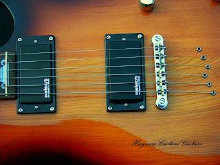 Haywire Custom Guitars Slimbody Guitar