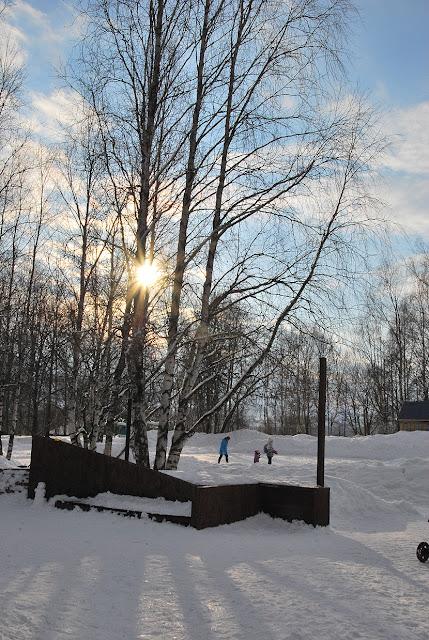 В парке Лысьвы