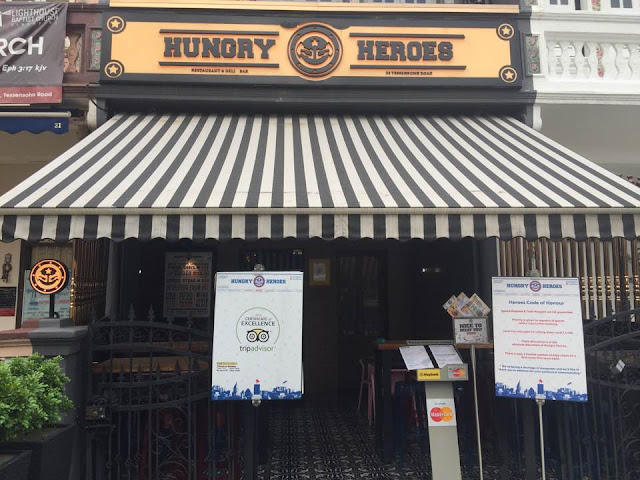 hungry heroes review singapore