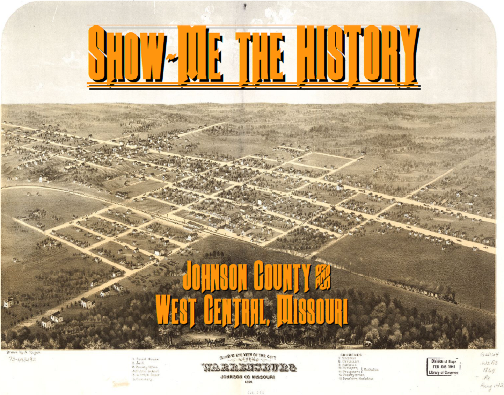 SHOW ME - Johnson County - Western Missouri History