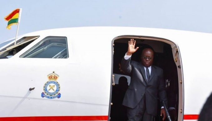 Akufo-Addo leaves for China Friday