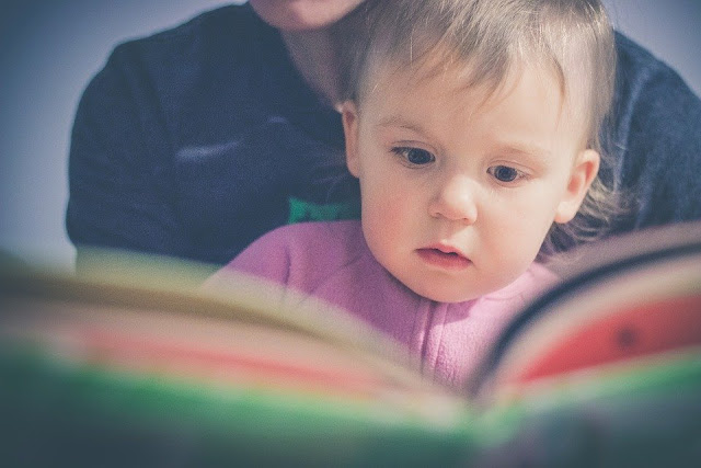 Image: Child Reading, by StockSnap on Pixabay