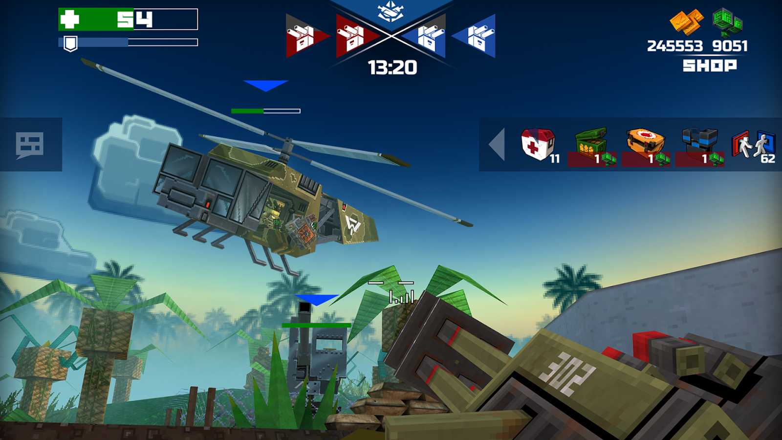 Pixelfield Best FPS MOBA Strategy Game MOD APK