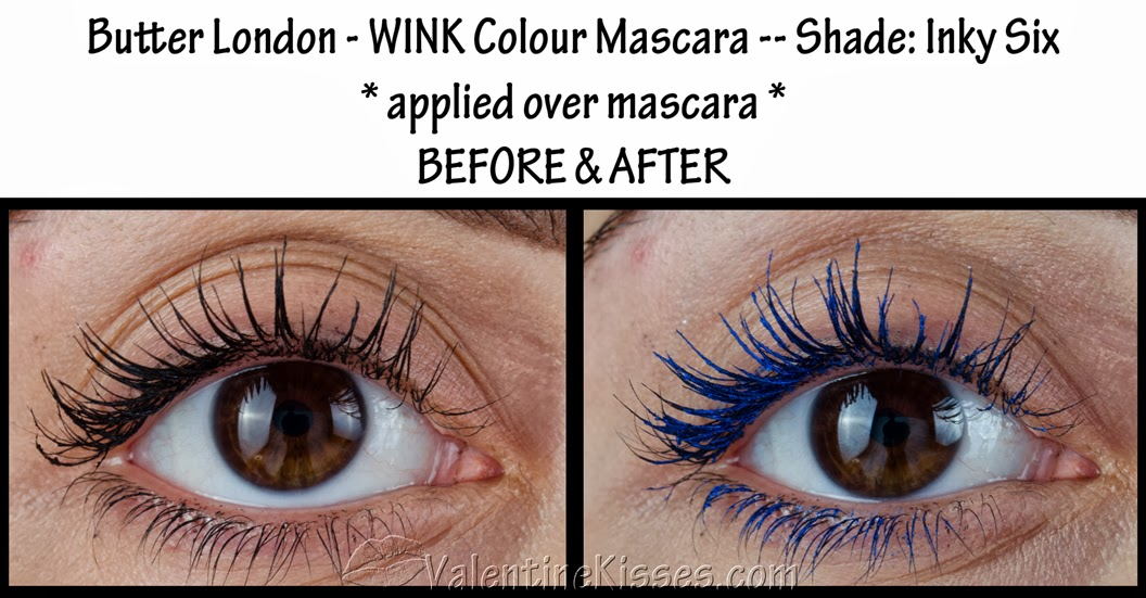 1241cd1c402 Valentine Kisses: Butter London WINK Colour Mascara in Inky Six ...